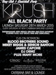 Krush – All Black Party