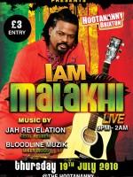 IAM Malahki Live